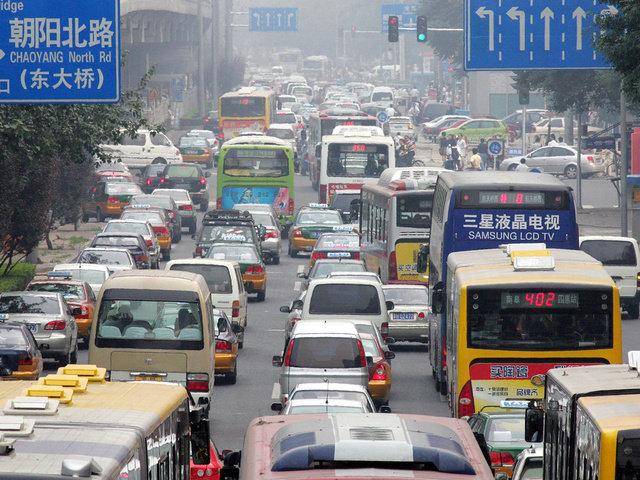 Движение в Китае, на первый взгляд, сумбурное