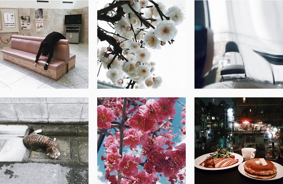 Фотографии Вонга - это приглушенные тона, плавные линии, причудливые позы. Источник: instagram.com