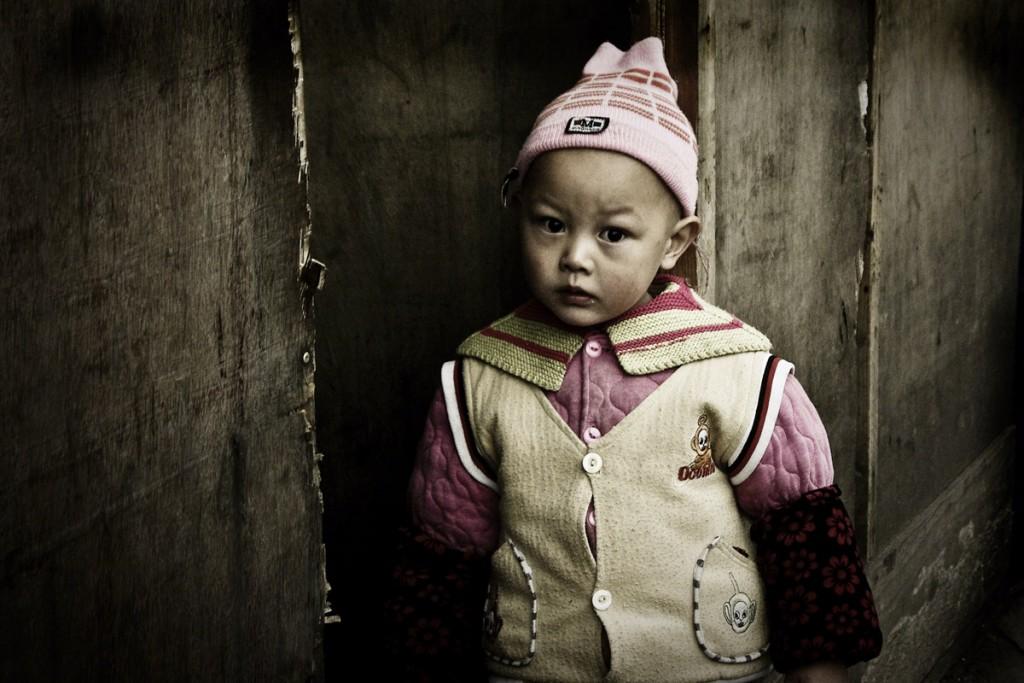 Китайская девочка из провинции