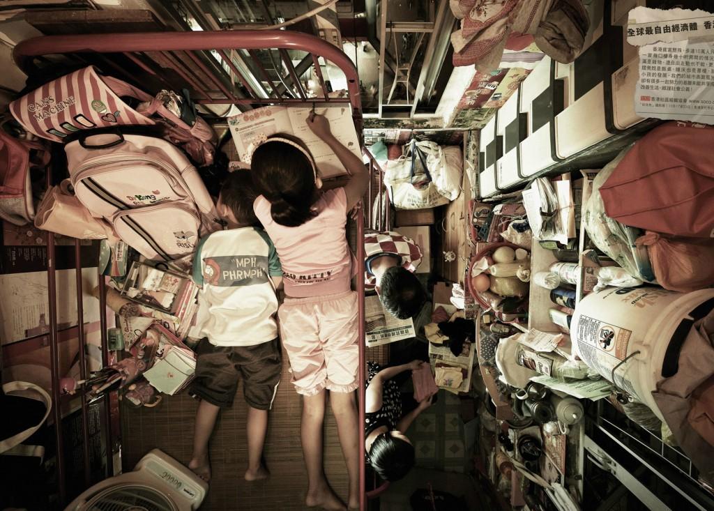 Крошечная квартира в Гонконге