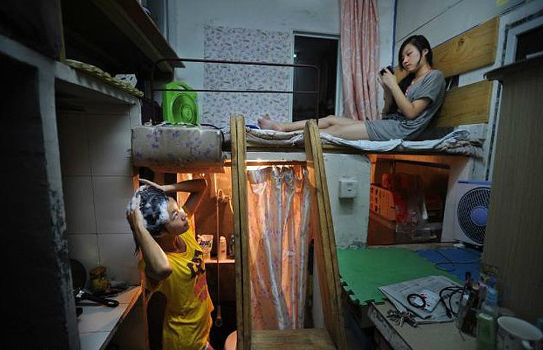 Маленькая комната на несколько жильцов, Китай