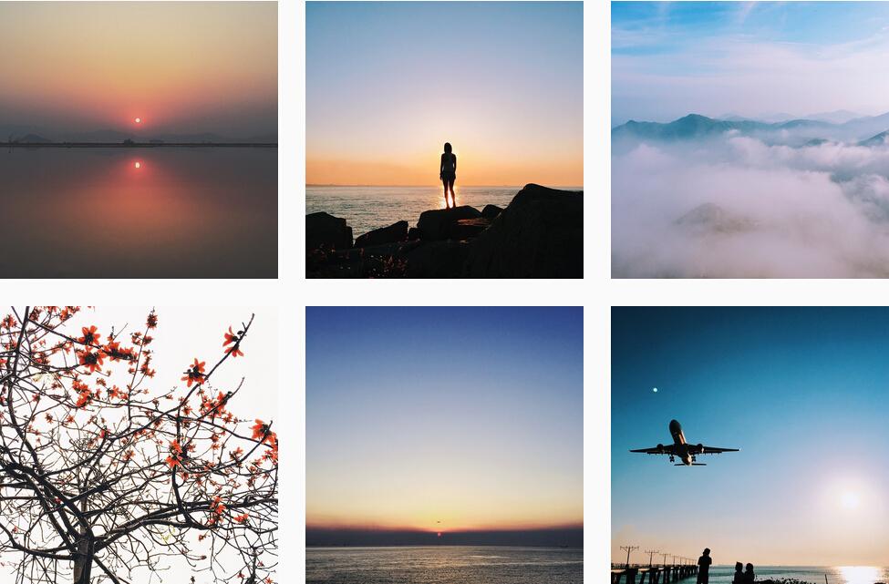 Лента Хана пестрит фигурами людей и элементами живой природы. Источник: instagram.com