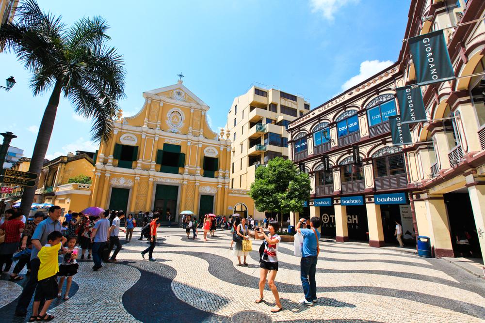 Макао – это еще и очаровательные маленькие тихие улочки. Источник: shutterstock.com