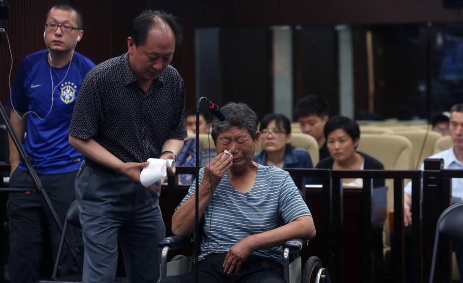 На суде Цуй плакала. Источник: news.ifeng.com