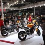 На мотовыставке в Чунцине представлены мировые и китайские бренды