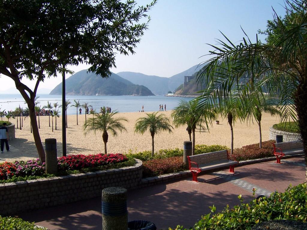 Номер один в моем списке - Repulse Bay Beach, пляж, где хочется остаться навсегда