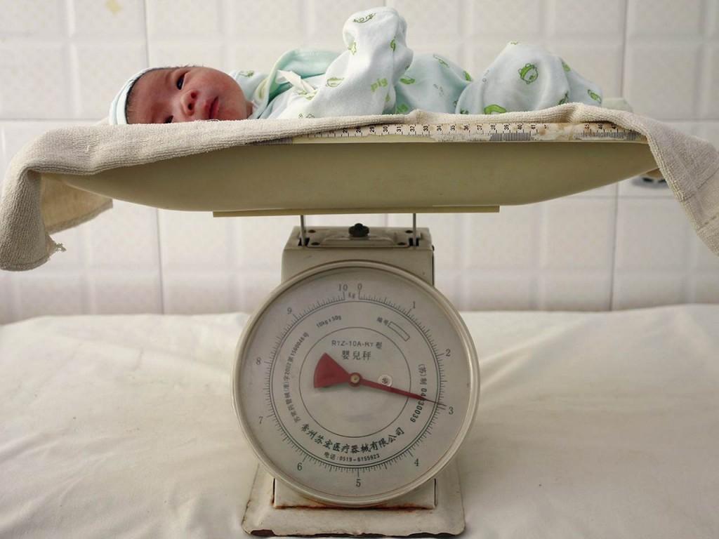 Новорожденный китаец. Источник: www.nbcnews.com