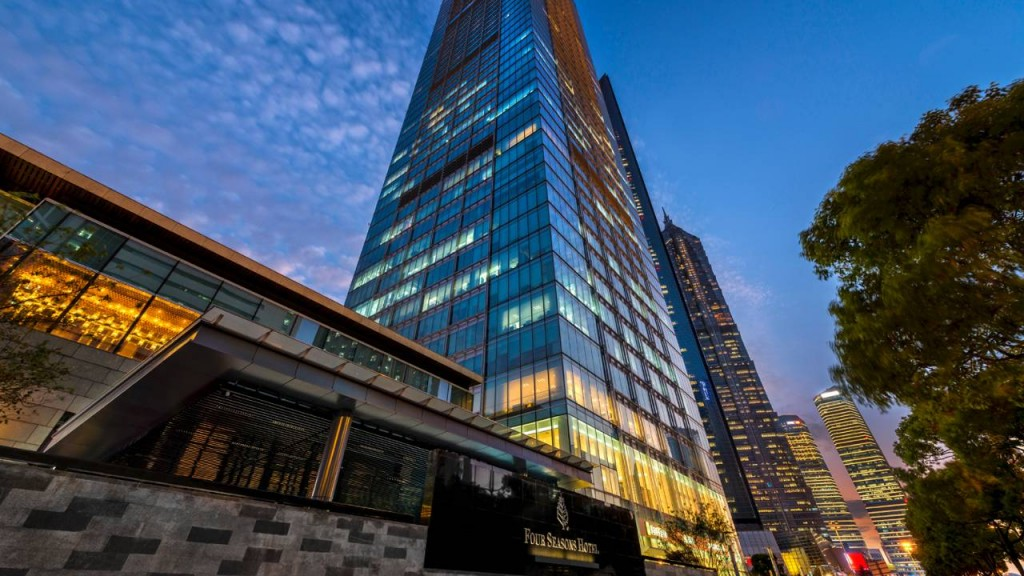 Внешний вид отеля Four Seasons Hotel Shanghai Pudong