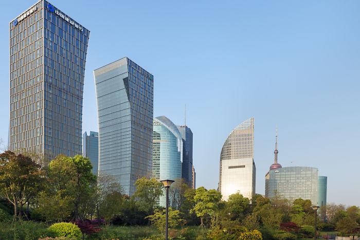 Внешний вид отеля Mandarin Oriental Pudong