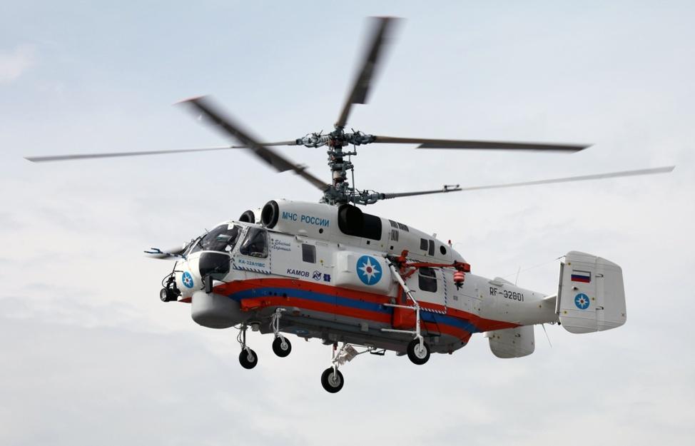 Противопожарный вертолет Кa-32А