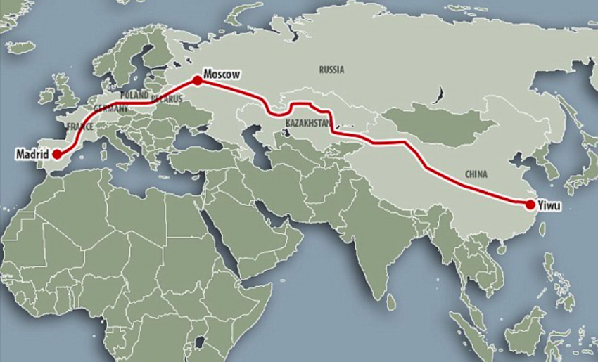 Иу – Мадрид: самый длинный в мире железнодорожный маршрут