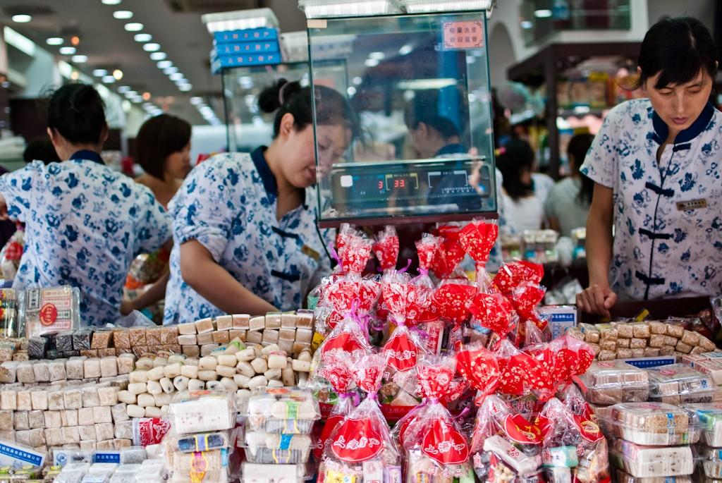Шанхайский центральный рынок. Источник: www.adomasbaltagalvis.com