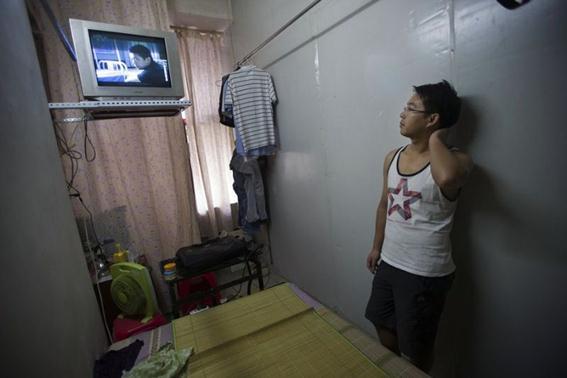 Тесное жилье в Китае