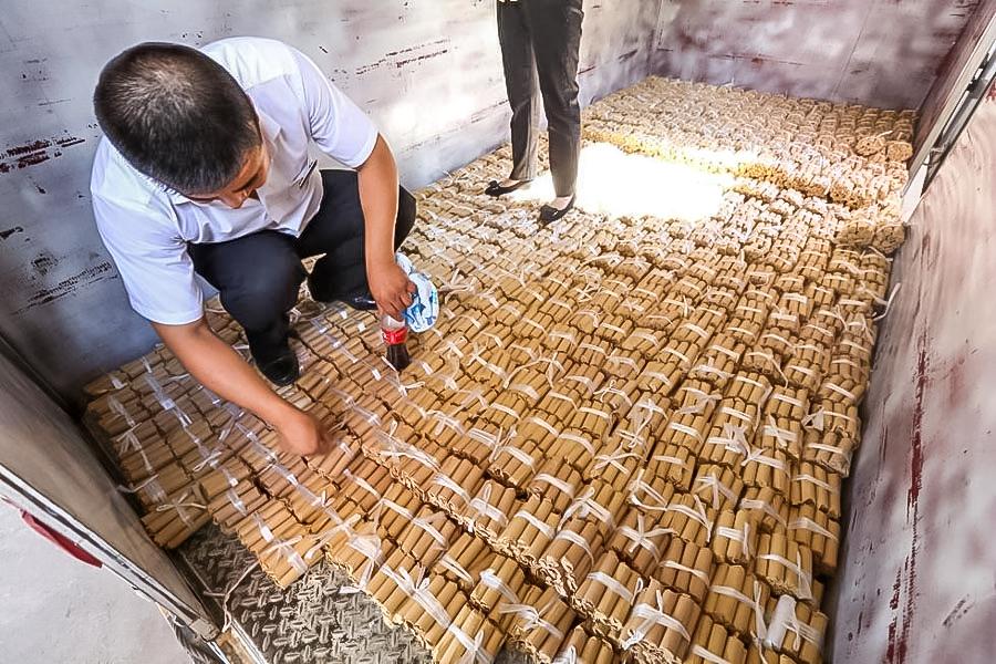 Все монеты были тщательно упакованы. Источник: english.cri.cn