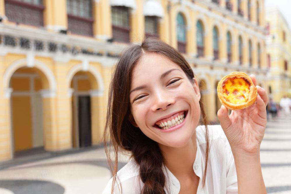 Яичные тарталетки - гордость Макао. Источник: фото автора