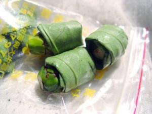 упаковка с орехами бетеля