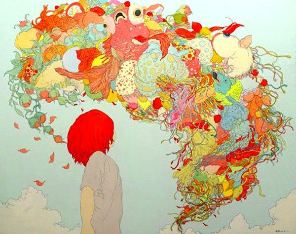 Чжоу Фань – один из чрезвычайно креативных современных китайских художников. Источник: lolitas.se