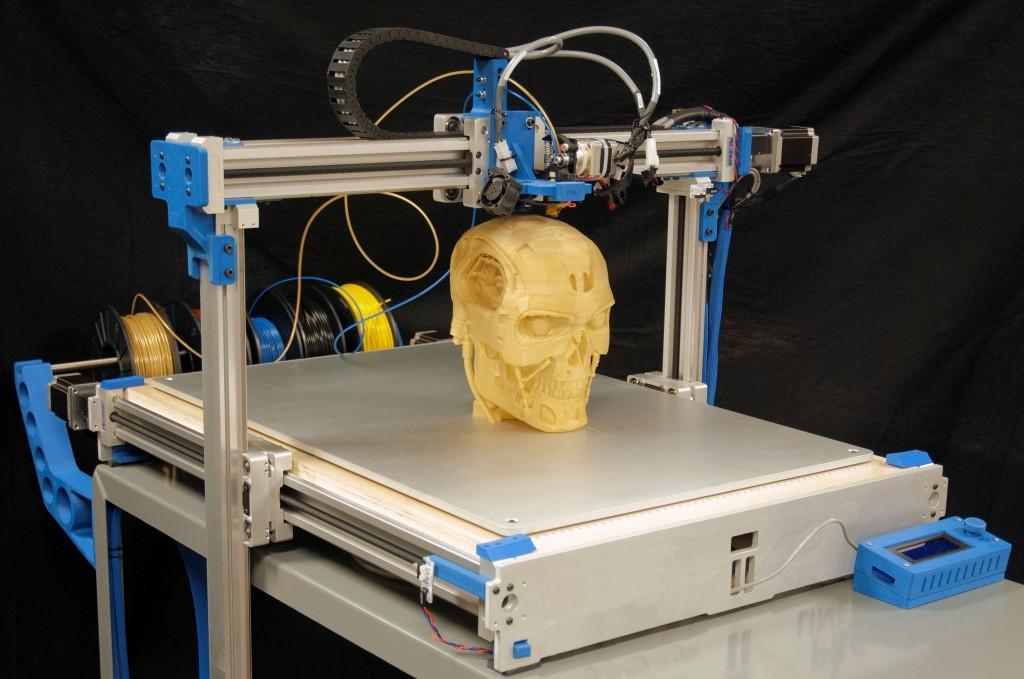 3д принтеры позволяют печатать сложные 3д модели. Источник: www.pbclinear.com