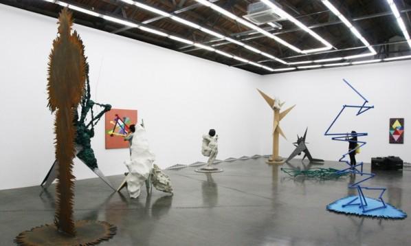 Фрагмент персональной выставки «Меня не видно» Чжао Яо в Пекине. Источник: cafa.com.cn