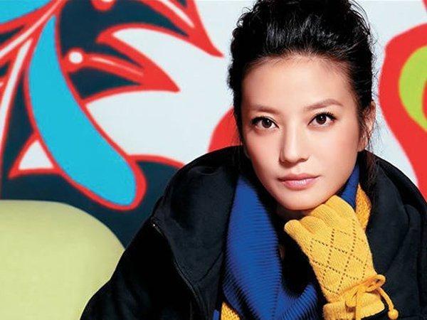 китайская актриса Чжао Вэй