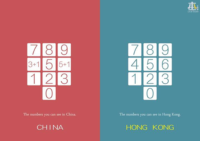 Цифры, которые можно увидеть в Китае и Гонконге. Источник: shanghaiist.com