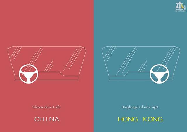 И о расположении руля. Источник: shanghaiist.com