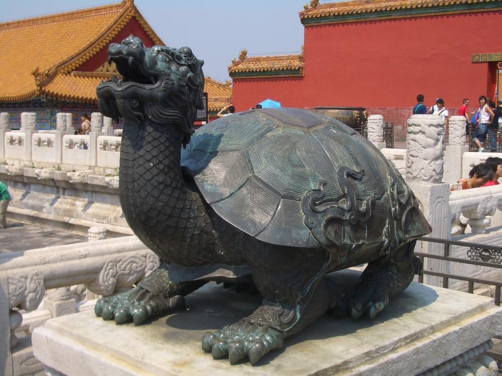 Черепаха из Запретного города. За прогнозом погоды обращайтесь к ней