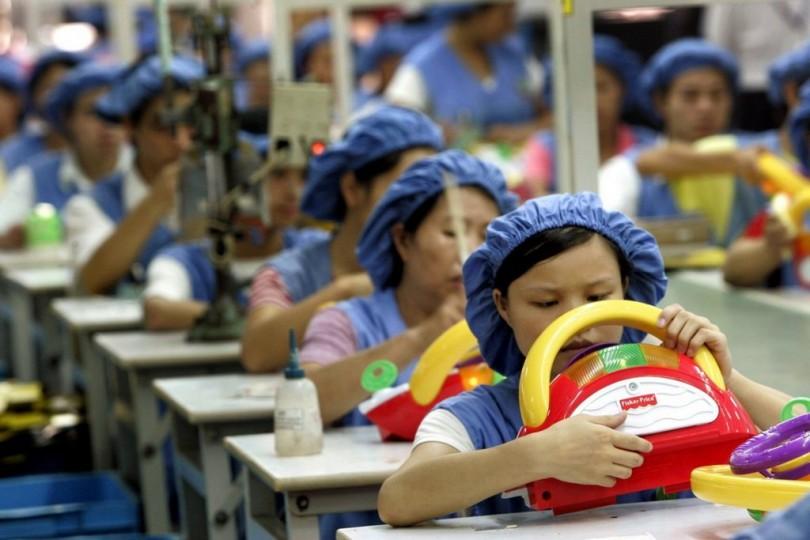 Фабрика по производству игрушек. Источник: watson.ch