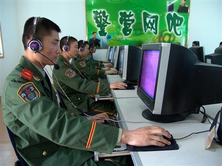 Китайские военные. Источник: www.reuters.com