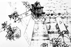 Осада города Мин. 1626 год. Источник: www.grandhistorian.com