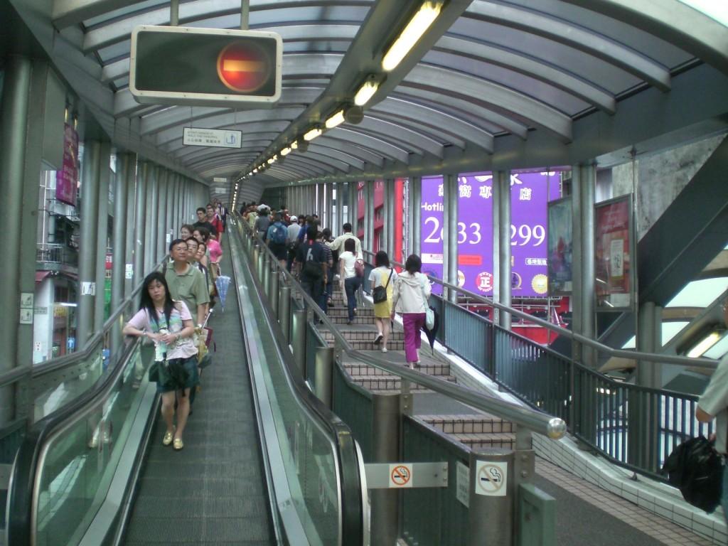 Самый длинный в мире эскалатор. Источник: wikipedia.org
