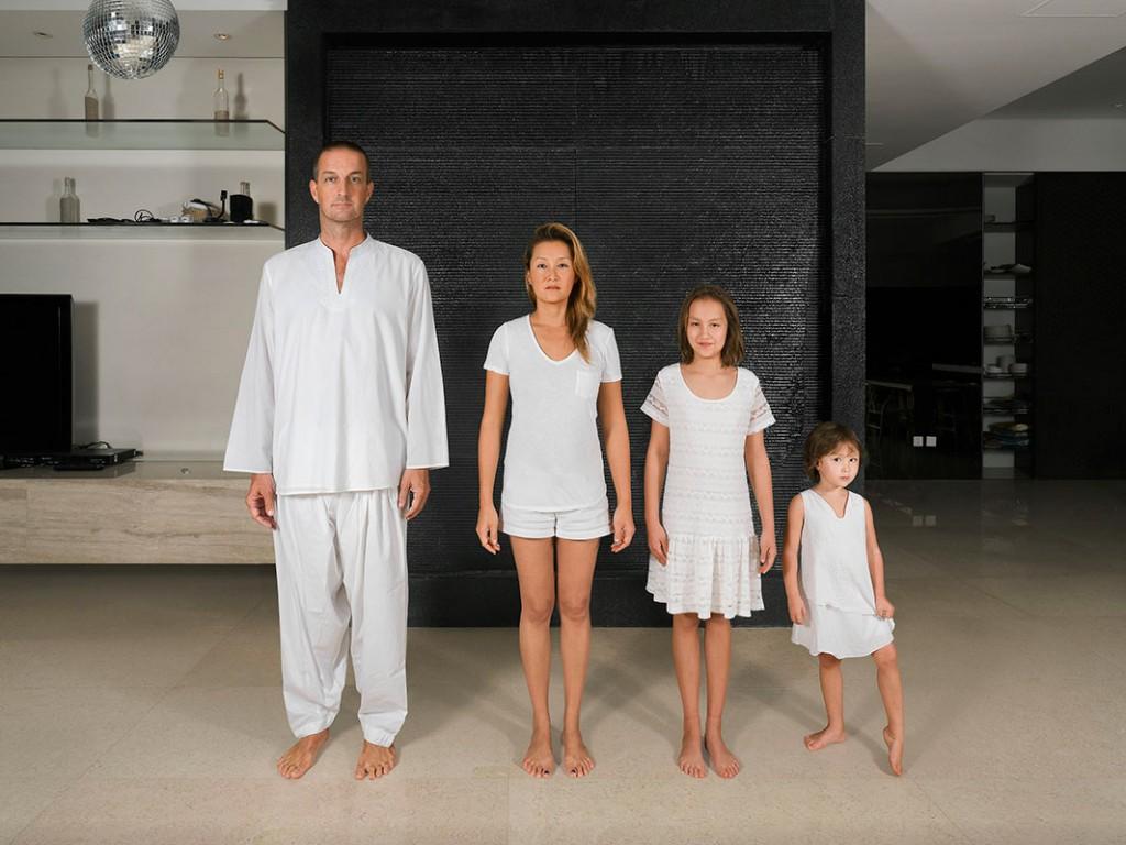 Семья европейца и китаянки. Живут в Пекине. Источник: www.slate.com