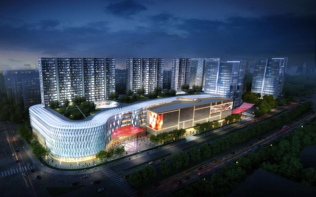 Будущее уже здесь - город Чанша. Источник: https://www.woodsbagot.com