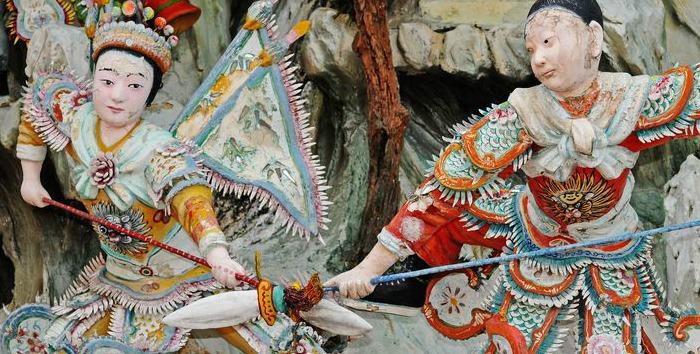 """Скульптурная иллюстрация к """"Искусству войны"""". Источник: techli.com"""