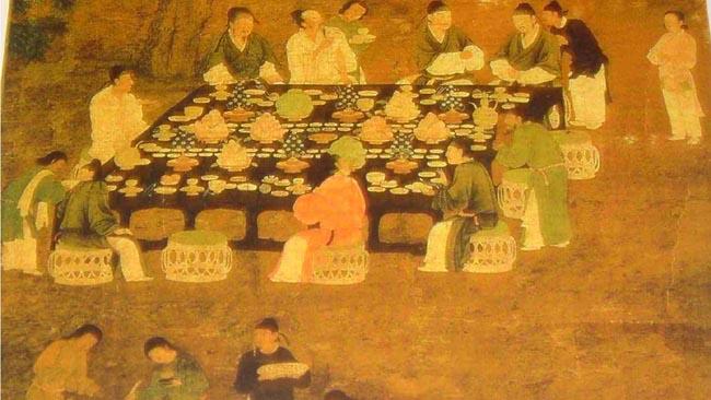 Вот такими были первые рестораны. Источник: exclusivenews.co.in