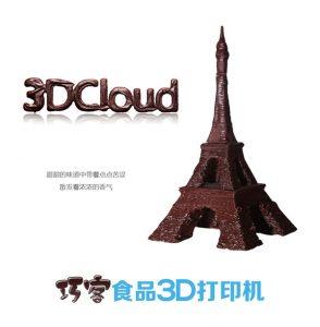 Шоколадная Эйфелева башня. Источник: 3dprint.com
