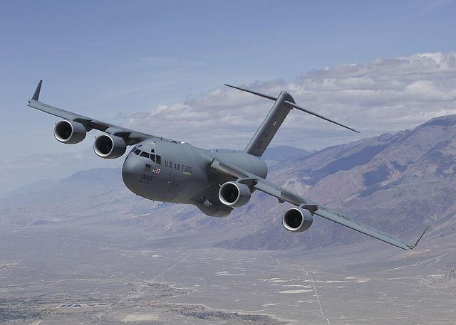 С-17 Globemaster III. Источник: theepochtimes.com