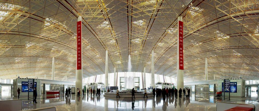 Пекинский аэропорт. Источник: openbuildings.com