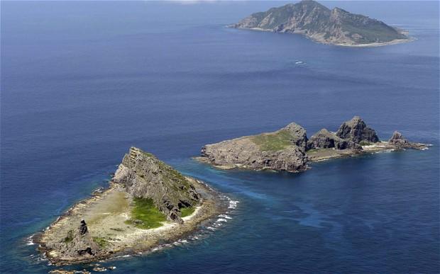 Острова Сенкаку/Дяоюйдао - один из многочисленных поводов для сложных отношений между Китаем и Японией. Источник: www.telegraph.co.uk