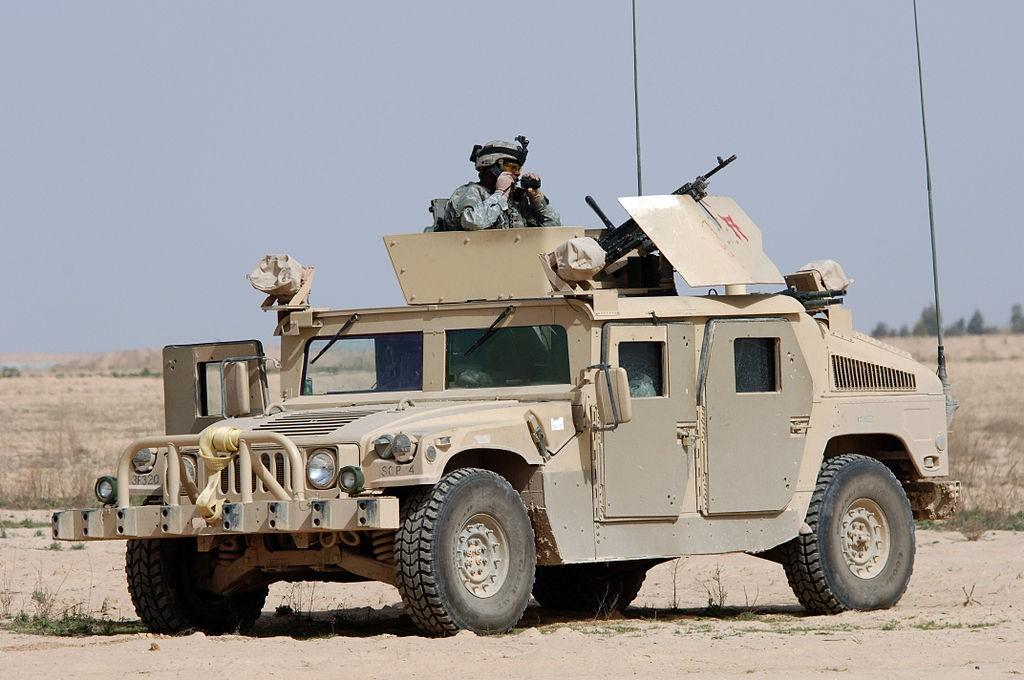 Американский Humvee. Источник: Викимедиа