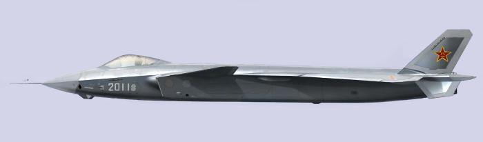 5-е поколение китайского  J-20. Источник: Источник: theepochtimes.com