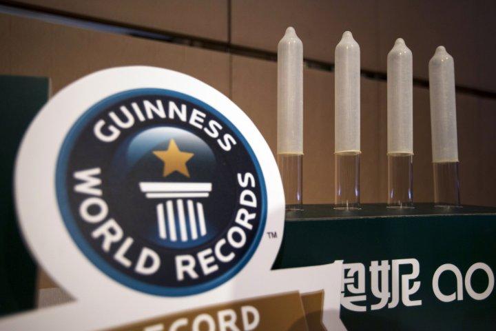 Китайские полиуретановые держали рекорд по тонкости.