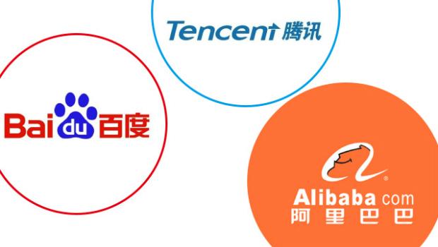 Китайские аналоги Google (Baidu) и Facebook (создатель WeChat компания Tencent) теснят Alibaba Group