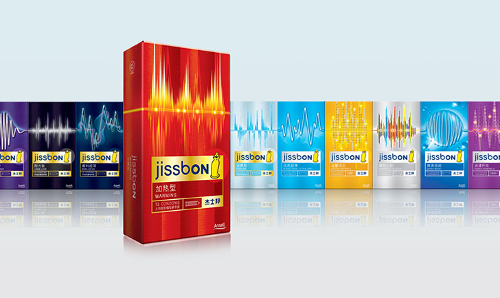 Линейка презервативов Jissbon.