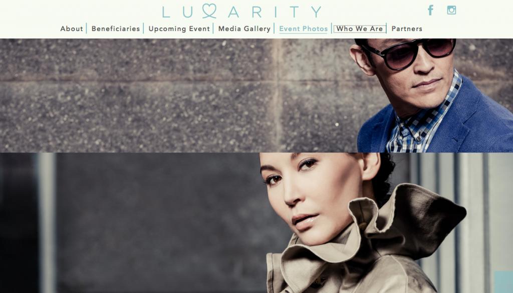 Скриншот сайта luxarity. com