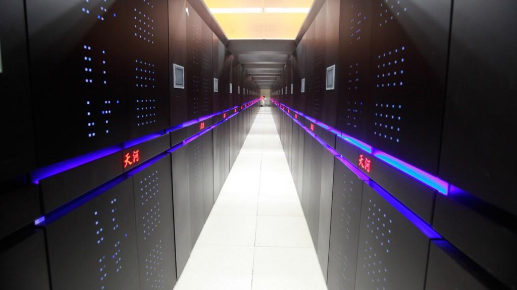 Вот так выглядит суперкомпьютер. Источник: mashable.com