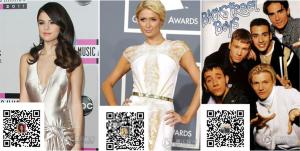 Американские звезды выходят в WeChat. Источник: www.digitalintheround.com
