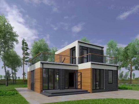 Дом в Сиане, напечатанный за 3 часа. Источник: businessinsider.com