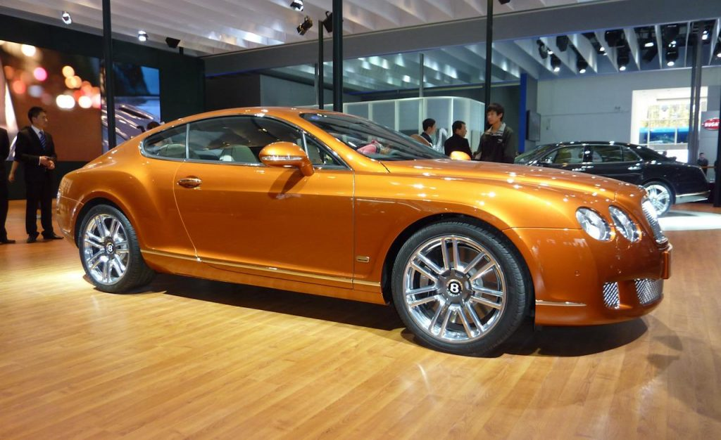Bentley Continental GT Design Series China. Источник: www.ducatiperformanceparts.net