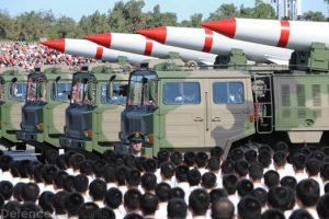 Пекин. Парад с участием ядерных ракет. Источник: morgenthaucenter.org